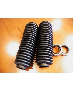 Norton Fork Gaiters And Seals Combo